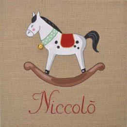 Immagine quadro soggetto Cavallo a dondolo
