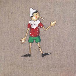 Immagine quadro soggetto Pinocchio