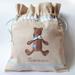 Bear bag for boy