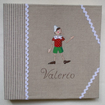 Album personalizzabile maschetto pinocchio